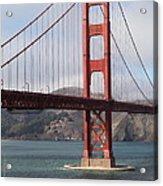 The San Francisco Golden Gate Bridge - 5d18911 Acrylic Print