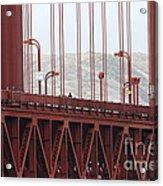 The San Francisco Golden Gate Bridge - 7d19060 Acrylic Print