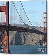 The San Francisco Golden Gate Bridge - 7d19184 Acrylic Print