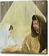 The Savior Is Born Acrylic Print