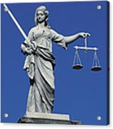 The Scales Of Justice Acrylic Print