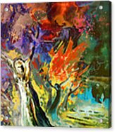 The Scream 02 Acrylic Print