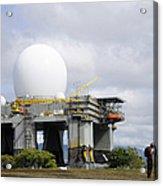The Sea Based X-band Radar, Ford Acrylic Print