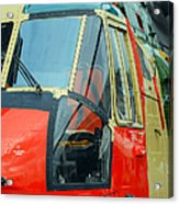 The Sea King Helicopter Used Acrylic Print