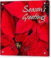 The Season's Velvet Touch Acrylic Print
