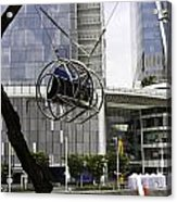 The Seat Of The G-max Reverse Bungee At The Clarke Quay In Singapore Acrylic Print