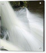The Second Lahuarpia Falls, Lahuarpia Acrylic Print by Nigel Hicks
