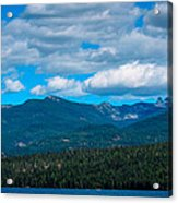 The Selkirk Mountains Of Priest Lake Acrylic Print