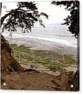 The Sentinels View Of The Ocean Acrylic Print