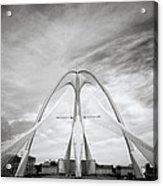 The Seri Wawasan Bridge In Purajaya In Malaysia Acrylic Print