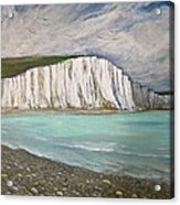 The Seven Sisters Acrylic Print by Heather Matthews