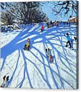 The Shadow Derbyshire Acrylic Print