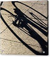 The Shadow That Follows Acrylic Print