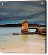 The Shed - Camp Cove  Acrylic Print