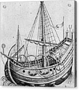 The Ship, C1470 Acrylic Print