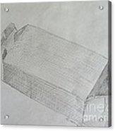 The Simple Box Acrylic Print