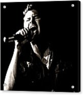 The Singer Acrylic Print