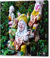 The Singing Gnomes Acrylic Print
