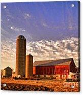 The Skittles Barn Acrylic Print