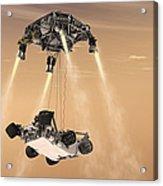 The Sky Crane Maneuver Acrylic Print