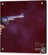The Smoking Gun Acrylic Print