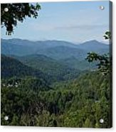 The Smoky Mountains Acrylic Print