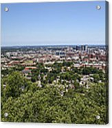 The Southern City Of Birmingham Alabama Acrylic Print