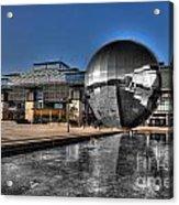 The Sphere At Bristol Acrylic Print