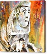 The Sphinx Of Petraion Acrylic Print