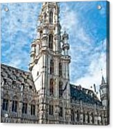 the Spire of  Brussels Acrylic Print
