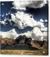 The Splendor Of The Superstitions Acrylic Print
