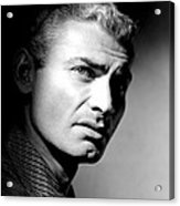 The Spoilers, Jeff Chandler, 1955 Acrylic Print