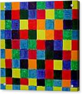The Square Mandala Acrylic Print