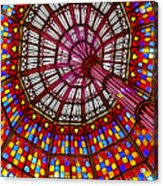 The Stained Glass Ceiling Acrylic Print