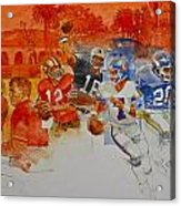The Stanford Legacy  1 Of 3 Acrylic Print