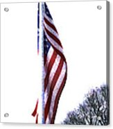 The Star Spangled Banner Acrylic Print