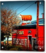 The Steakhouse On Route 66 Acrylic Print