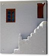 The Steps And The Window Acrylic Print
