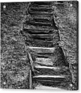 The Stone Staircase  Acrylic Print