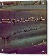 The Strat Acrylic Print
