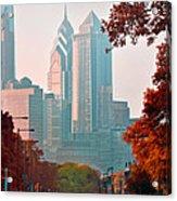 The Streets Of Philadelphia Acrylic Print