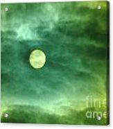 The Sun Through Clouds  Acrylic Print