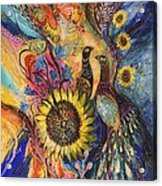 The Sunflower ... Visit Www.elenakotliarker.com To Purchase The Original Acrylic Print