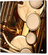 The Sweet Sound Of Old Jazz Acrylic Print