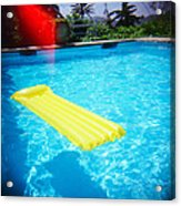 The Swimming Pool Acrylic Print