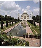 The Taj Mahal In Agra, India Acrylic Print