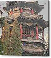 The Temple Acrylic Print