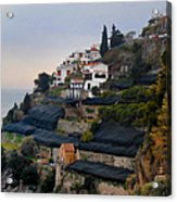 The Terraces Of Amalfi Acrylic Print