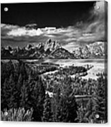 The Tetons Acrylic Print