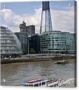 The Thames London Acrylic Print